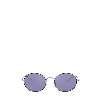 راي بان RB3594 الفضة على أعلى النظارات الشمسية Bordeaux للجنسين
