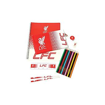 Liverpool FC Fade Stationery Set (Pack de 19)