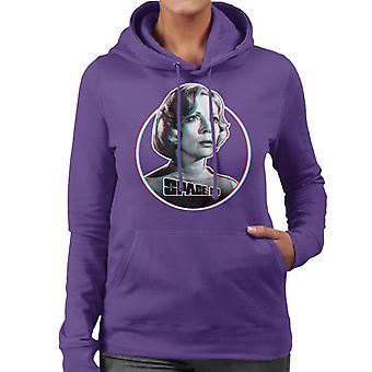 Utrymme 1999 Helena Moonbase Alpha Kvinnor's Hooded Sweatshirt