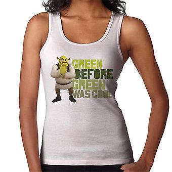 Shrek Green Innan Green var Cool Women's Vest
