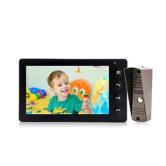 Video Deur Telefoon, Deurbel Intercom Systeem, Wired Monitor Support, Praten