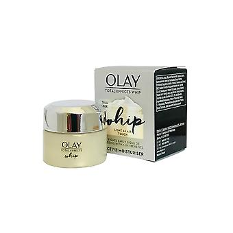 Olay Total Effects Active Moisturiser Whip Light as Air 15ml 7in1 Benefícios