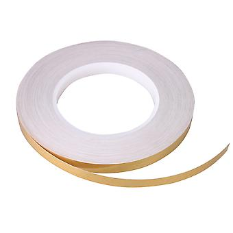 Golden Ceramic Tile Gap Tape for Beautify Decoration Width 0.39Inch