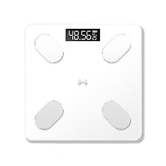 Bluetooth Body Fat Scale Bmi Skala Smart Elektroniske Vekter