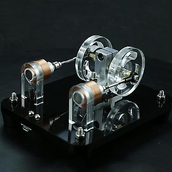 Dual-coil Brushless Motor Hall Electric Machine Electromagnetic Induction Physical Experiment Model
