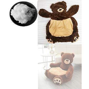 Bekväm djurbjörn och panda bärbar stol soffa
