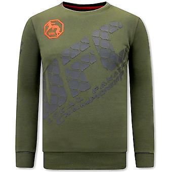 Sweater - UFC - Green
