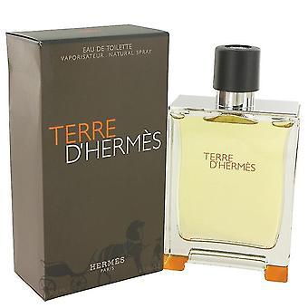 Terre D'hermes Eau De Toilette Spray Hermes 6,7 oz Eau De Toilette Spray