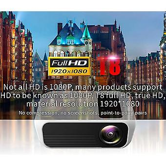 Led Projector 4500 Lumens 1920x1080 Home Theater