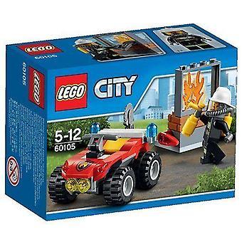 Lego ville incendie atv 60105