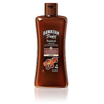 Hawaiian Tropic Bronzage Huile Riche Spf 4 200 ml