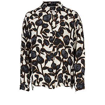 Masai klær Ibilla Floral Print skjorte
