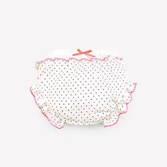 100% Cotton Underwear Briefs Fashion Bow Dot Stripe Underpants