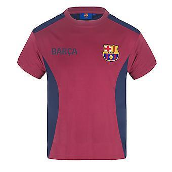 FC Barcelona Pojat T-paita Poly Training Kit Lapset VIRALLINEN Jalkapallo Lahja