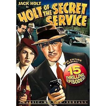 Holt Of The Secret Serv [DVD] USA import