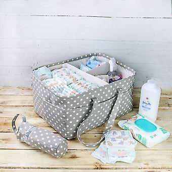 3 compartimento bolso bebé y portabotellas aislados | M&W
