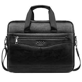 Classic Design Laptop Briefcase, Men's Office Computer Handbag