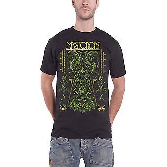 Mastodon T Shirt Devil On Black Band Logo Leviathan Official Mens Black