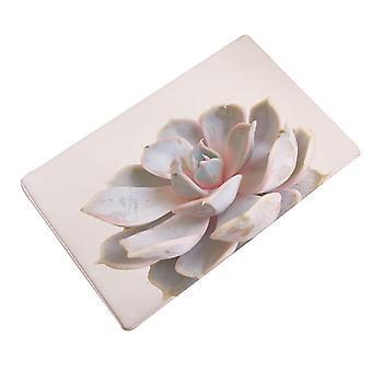 ممسحة باب زخرفة النبات المطبوعة