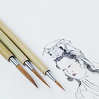 Calligraphie chinoise Peinture Écriture Lline Brush Set