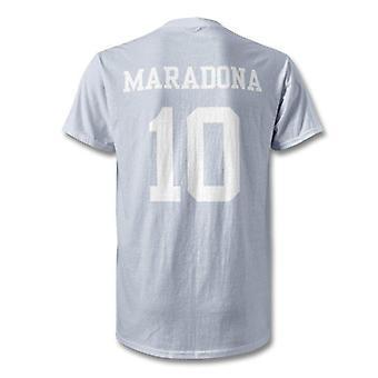 Diego maradona napoli legende helten t-shirt