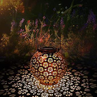 Solarlaterne für außen, Solar Laternen IP65 Wasserdichte für außen Garten, Dekorative Solarlampe