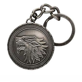 Stark Shield Keychain from Game Of Thrones
