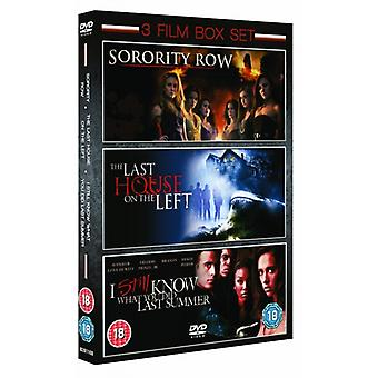 Sorority Row / Last House On The Left / I Still Know What You Did Last Summer DVD