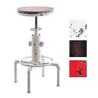 Vintage Vanhat käsityöpatukan tuolit metallinen teollisuuspalkki jakkara pöytä korkeus säädettävä