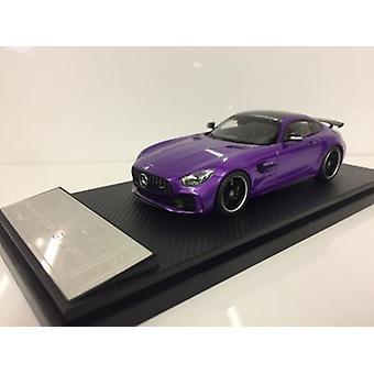 Lähes todellinen 420701 Mercedes-AMG GT R 2017 Sky Purple 1:43 Asteikko