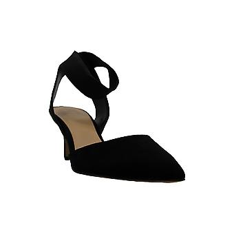 INC International Concepts Womens LAYLONI Fabric Pointed Toe Ankle Strap D-orsay Pumps