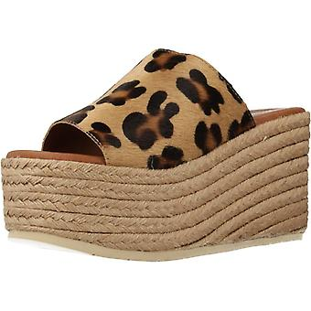 Sandali Gialli Leo Stringhe Leopardo Colore