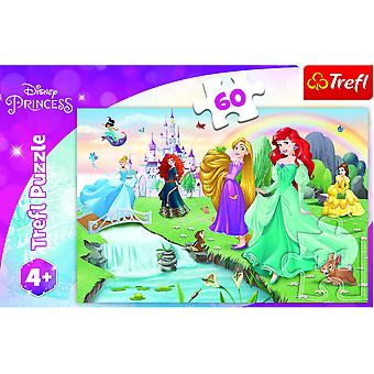 Disney Princess pussel - 60 stycken