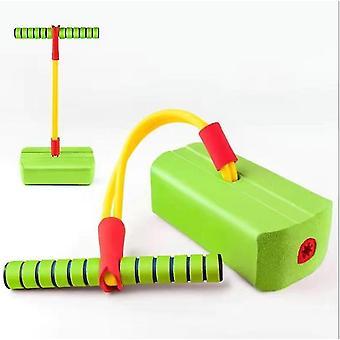 Fitnessspeelgoed voor kinderen, outdoor springen evenwicht zin indoor trainingsapparaat (groen)
