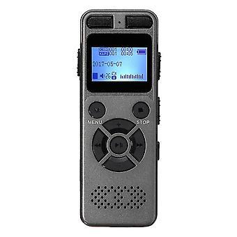8 GB uppladdningsbart LCD-digitalt ljudljud A till B Upprepa röstinspelarens diktafon