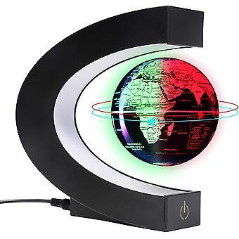 Schwebender globus 3〃 lampe,weltkarte beleuchtet,globus beleuchtet und Antigravitation, coole