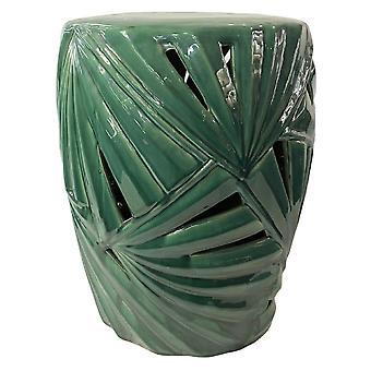 Прекрасный азиатскийживущий керамический садовый табурет китайский фарфор ручной работы D33xH46cm