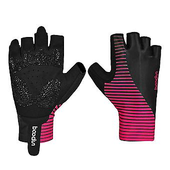 Mountain Road Bicycle Half Finger Gloves Palm Breathable Outdoor Sports Riding Gloves