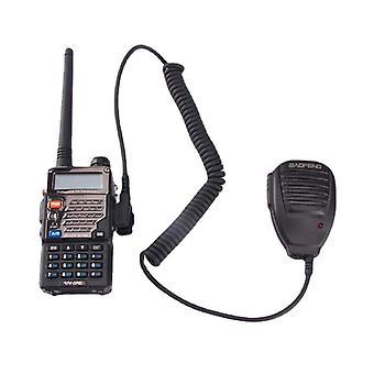 Kädessä pidettävä mikrofonikaiutin, jossa merkkivalo bf-888s uv5r radiopuhelin