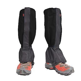 1 Pair gaiters hiking travel leggings waterproof leg warmers shoe covers zippered closure gaiters biking snowboarding