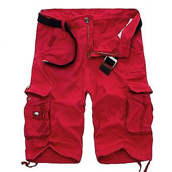 Men Cool Camouflage Summer Cotton Casual Short Pants Comfortable