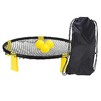 Inflatable Volleyball 4 Ball Kit - Game For The Backyard, Beach, Park, Indoors