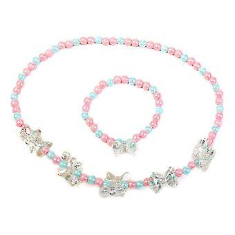 Necklace and Bracelets set Inca