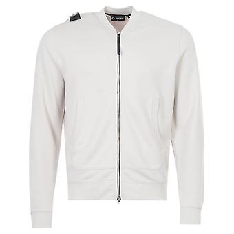 MA.Strum Zip Through Bomber Sweatshirt - Aluminum