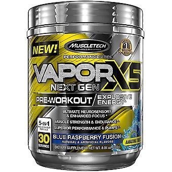 Vapor X5 Next Gen Pre-Workout, Fruit Punch Blast (EAN 631656710939) - 263 grams