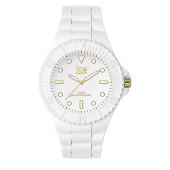 Mixed Watch Ice Watch Ice Generation Kellot - Valkoinen kulta - Keskikokoinen - 3H 019152 - Valkoinen Silikonihihna