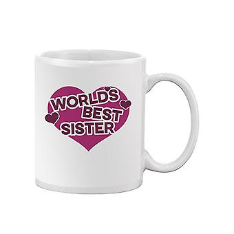 World's Best Sister Mug -SPIdeals Designs