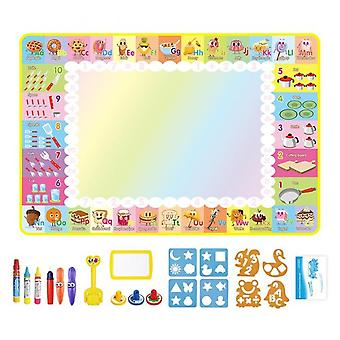 Drawing Magic Water Mat Coloring Painting Board Educational Toys For Kids