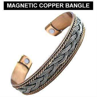 Copper Colour Magnetic Cuff Bangle Various Colours