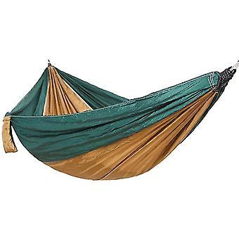 Camping hangmat outdoor toerist hangende hangmatten draagbare parachute nylon wandelen hangmat voor